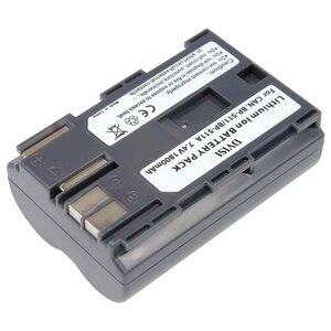 Top Quality 7.4V 1.8 Ah Bateria para Canon PowerShot EOS 300D 10D BP-511A 20D 30D 40D 50D D30 D60 5D G6 OS 30D 40D G1 Pro 1 PV130