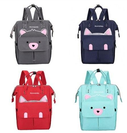 3 colors Diaper Bag Waterproof Maternity Baby Backpack Travel Organizer Nursing Bag for Baby Care Mother & Kids