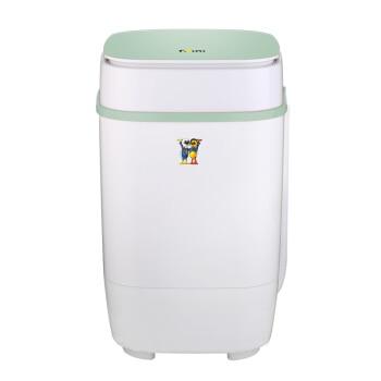 3,5 Kg Mini Power Washer Halbautomatische Einzigen Zylinder Baby Waschmaschine Blau Licht Becken Pulsator Nachahmung Hand Waschen Um Sowohl Die QualitäT Der ZäHigkeit Als Auch Der HäRte Zu Haben