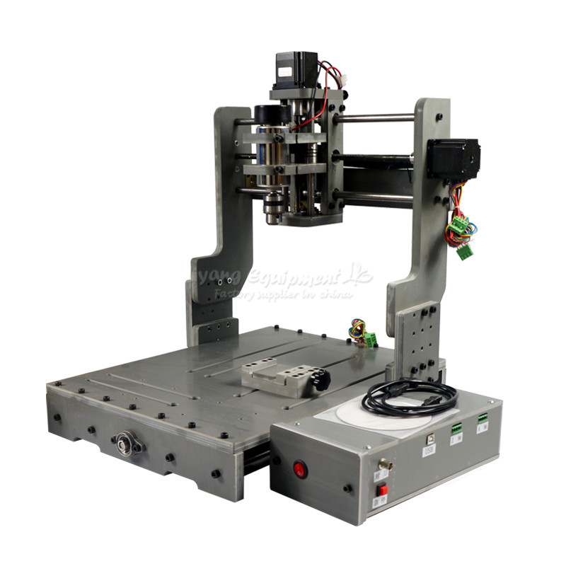 DIY mini cnc milling machine 3040 LPT USB port cnc router for wood glass so on ...