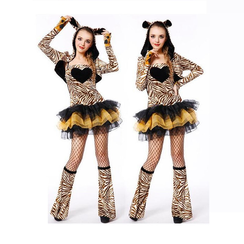 Dessin animé mignon souris Cosplay Costume brun Animal noir-jaune robe douce ajouter manteau à manches longues avec chapeau chaussures couverture