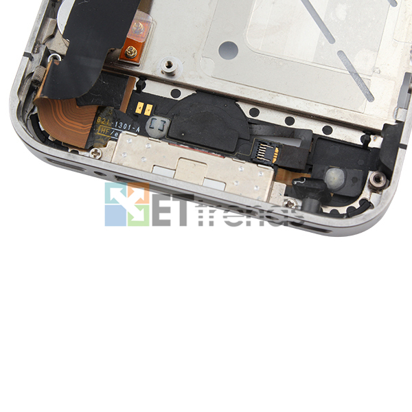 Metal Middle Plate Assembly for iPhone 4S - White  (8).jpg