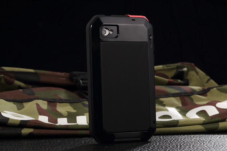 Heavy Duty Protection Doom armor Metal Aluminum phone Case for iPhone 11 Pro Max XR XS MAX 6 6S 7 8 Plus X 5S 5 Shockproof Cover