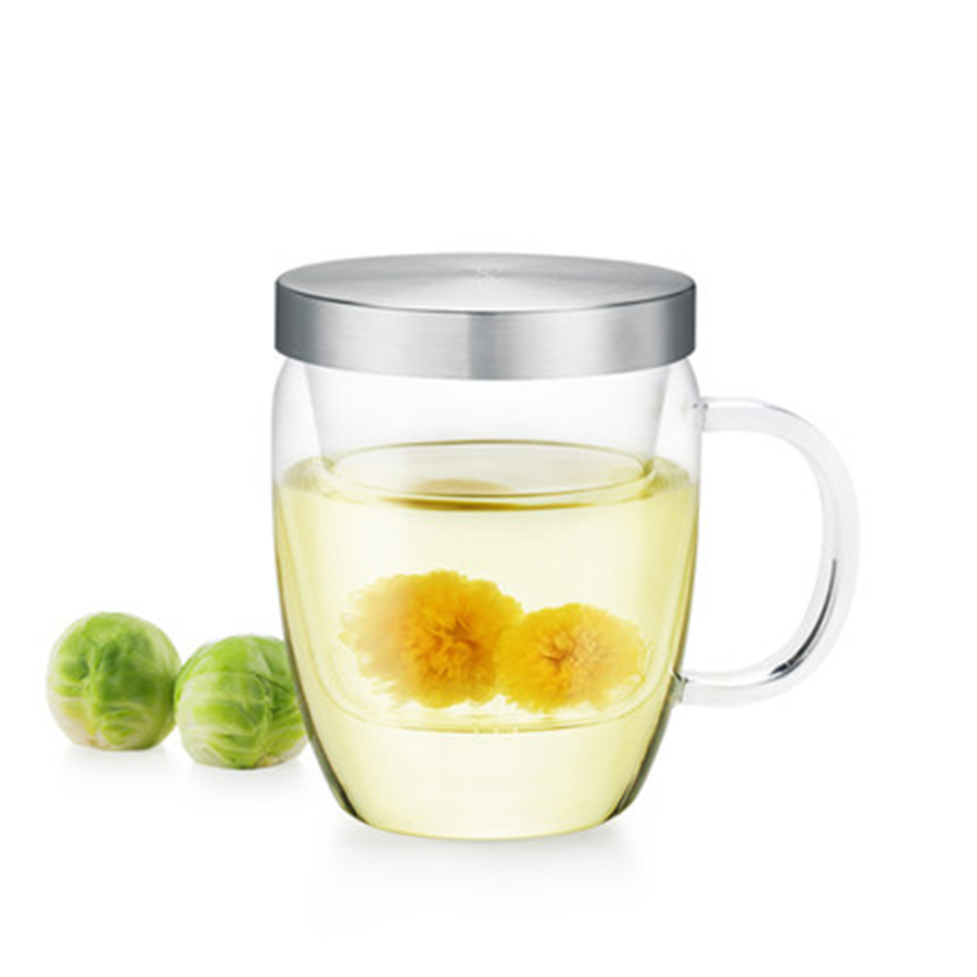Heat Resistant Creative Tea Glass Cup With Lid Personalized Jug Glass Beer Mugs Water Fincan Home Transparent Mugs Milk DDQ128