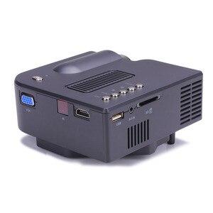 Image 5 - 1080P HD LED Hause MulitMedia Theater Kino USB TV VGA SD HDMI Mini Projektor WH Jan 23