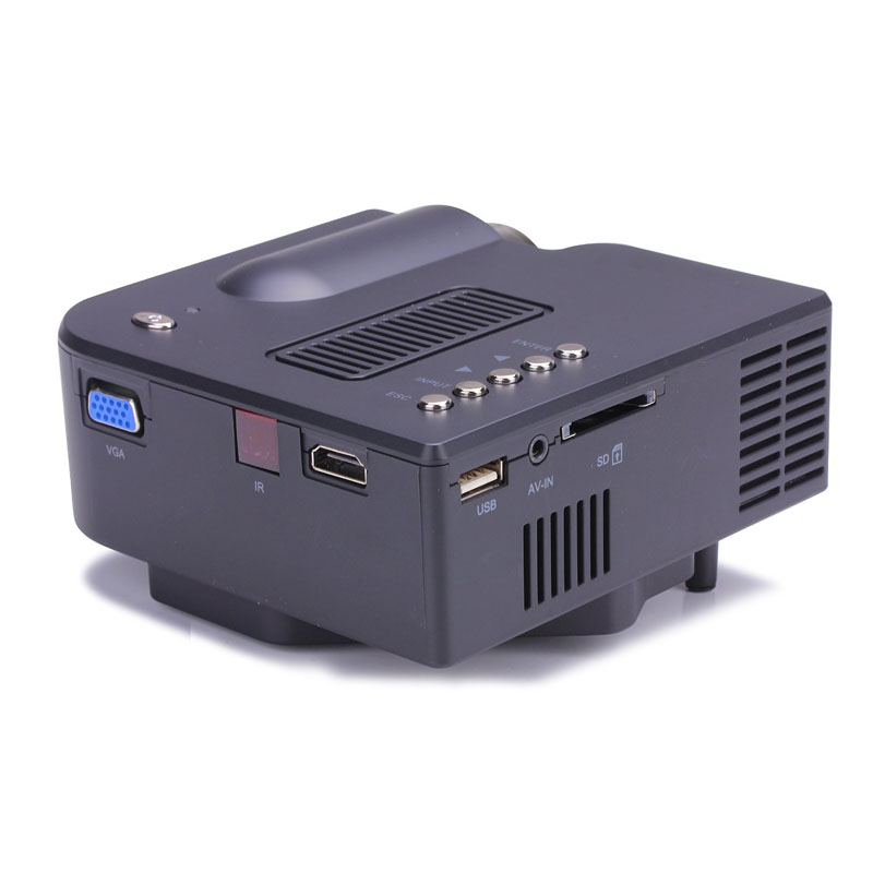 Image 5 - 1080P HD LED Home MulitMedia Theater Cinema USB TV VGA SD HDMI Mini Projector WH Jan 23-in Home Automation Modules from Consumer Electronics