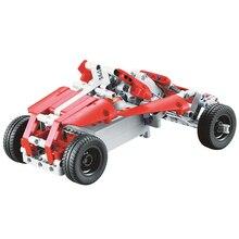 RC спортивных автомобилей вперед и назад модели дистанционного Управление автомобиля дети подарок DIY Building block высокая скорость автомобилей 2 канала 10 в 1