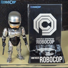 high quality 16cm Alloy Robocop Action Diecast Figure Model Toys Xmas Gifts Collections Children Toys Gift цена 2017