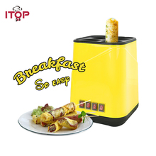 ITOP Vertical Multifunction Fried Egg Breakfast Roll Sausage Machine Cup Remove Plug Not Sticky Pot Food Processors