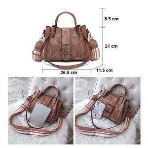 Image 2 - Luxus Handtaschen für Frauen PU Leder Schulter Tasche Weiblichen Umhängetaschen Für Frauen Messenger Taschen Casual Tote Damen Hand Tasche sac