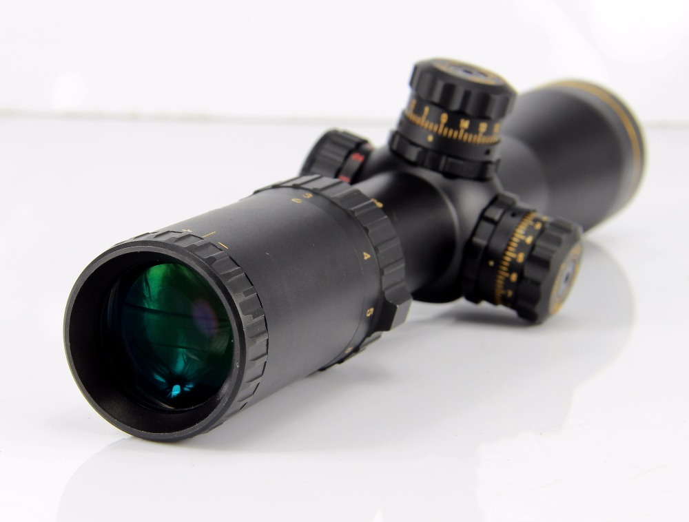 Hunting Optics 3-9X40 Hunting Red / Green Illuminated Riflescope Tactical Combo Dot Sight For Tactical Hunting Shooting