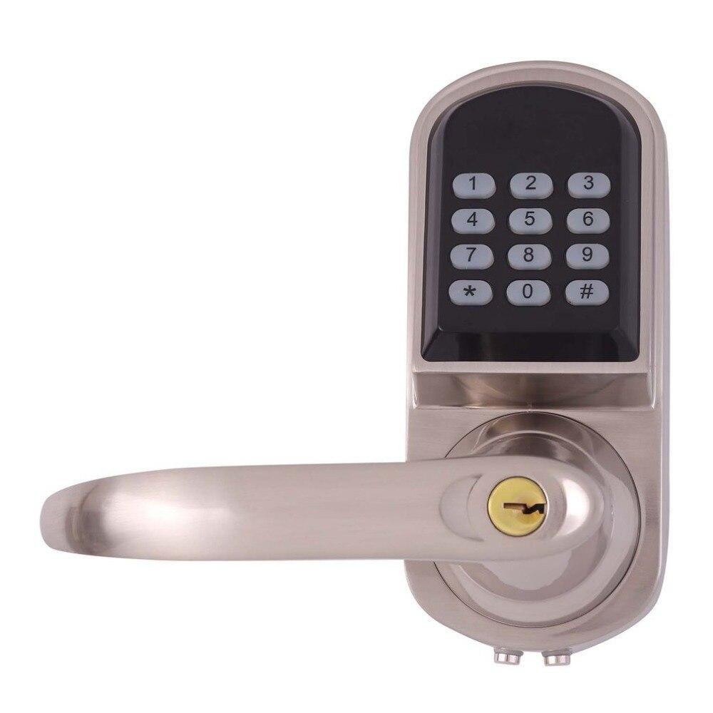 OS8015MF Electronic Keyless Deadbolt Door Lock Unlock with Code MI-fare Cards Mechanical Key Security Lock SystemOS8015MF Electronic Keyless Deadbolt Door Lock Unlock with Code MI-fare Cards Mechanical Key Security Lock System