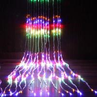 3 X 3M Water Flow String LED Waterfall Lights Wedding Party Background Decor AU Plug