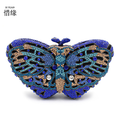 Blue Xiyuan purple Women Clutches Evening pink Green Wedding Shoulder Wallet green Party Purse Crystal lavender silver Color orange Brand army Chian gold Bags Diamond ivory Rhinestone Clutch Stwatr