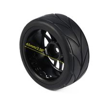 4PCS 1/10 Rubber RC Car Tires On Road Wheel Rim Fit For HSP HPI 9068-6081 Diameter 65mm цена в Москве и Питере
