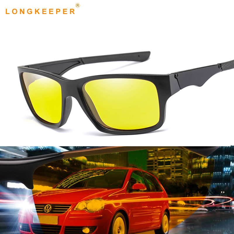 db0c1228b1634c Detail Feedback Questions about Night Vision Yellow Lens Sunglasses Driving  Polarized Sunglasses Goggles Reduce Glare Glasses Gafas lunette de soleil  homme ...