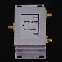 Najnowszy 2 Sposobem zasilania rozdzielacza Rozdzielacz Zasilania 380 ~ 2500 MHz SMA SMA booster akcesoria telefon komórkowy booster wzmacniacz rozdzielacz przegroda