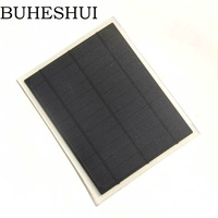 BUHESHUI Monocrystalline 5W 6V Solar Cell Solar Panel For Solar Folding Charger/Charging Bag /Backpack DIY Solar Charger