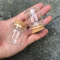 20ml Glass Jars Bottles With Cork 37*40*27mm 12pcs/lot For Wedding Holiday Decoration Christmas Gifts