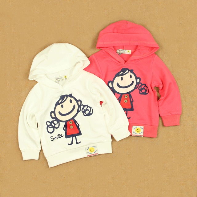 Tails sweet spring sweatshirt top modal cotton long-sleeve pullover girls clothing