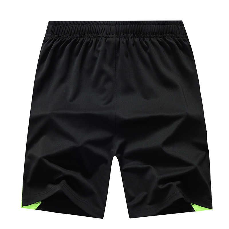 2019 новые летние шорты Для мужчин быстросохнущая дышащий эластичный лоскутное тонкие Пляжные шорты Для мужчин s повседневные пляжные шорты 8XL плюс Размеры