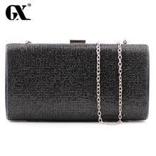GX Kupplung Einfaches Acryl Abendtasche Frauen Handtaschen Diamanten Abendtaschen Messenger Umhängetaschen Für Hochzeit/Partei/Abendessen