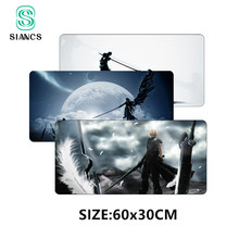 SIANCS Final Fantasy VII Mousepad Large 60X30cm XL Mouse pad Game Gamer gaming Mousepad keyboard Office Desk Mat(China)