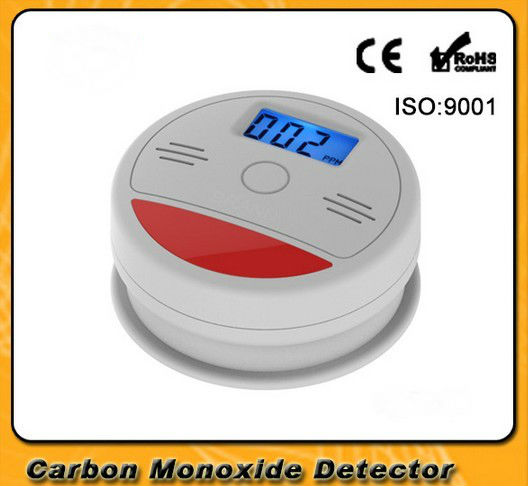 SmartYIBA Home Security 85dB Warning LCD Photoelectric Independent CO Gas Sensor Carbon Monoxide Poisoning Alarm Detector Sensor