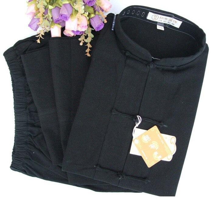 שרוול ארוך חליפת טאנג הסיני מסורתי קונג פו Uinform הוו שו טאי צ 'י בגדי אמנויות לחימה בגדי התעמלות בוקר לבישת