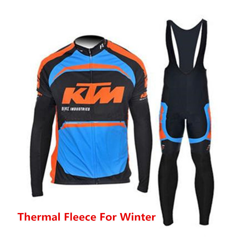 Winter Cycling jersey Tops Pro bike Wear Thermal Fleece Cycling Clothing Sets long sleeve Maillot Ciclismo invierno #DT-022 black thermal fleece cycling clothing winter fleece long adequate quality cycling jersey bicycle clothing cc5081