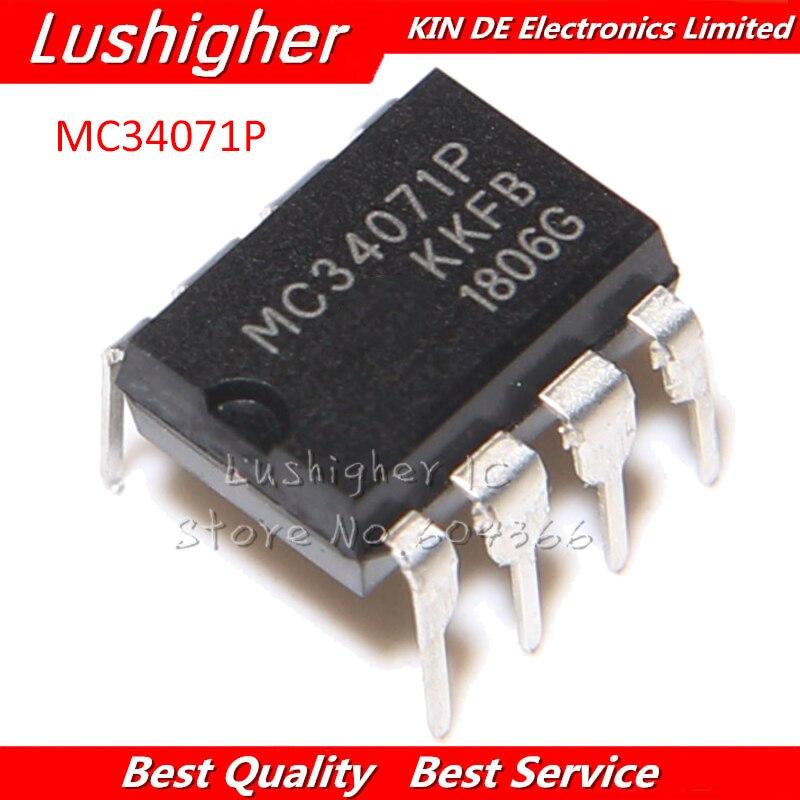 5PCS MC34071P DIP8 MC34071PG MC34071 DIP-8 DIP