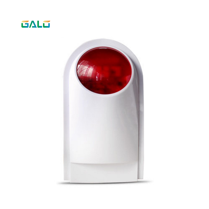 Wall alarm 433mhz 120dB Outdoor Wireless Flashing Siren Strobe Light Siren For all Alarm Security System