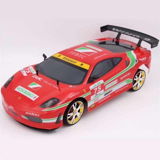 Large RC Car 1:10 High Speed Racing Car For Ferrary Viper Championship 2.4G 4WD Radio Control Sport Drift Racing Electronic Toys 3