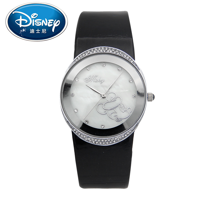 2017 Disney Kids Watch Children Watch Fashion Simple Wristwatches Girls Mickey Mouse Gift Water Resisitant clock