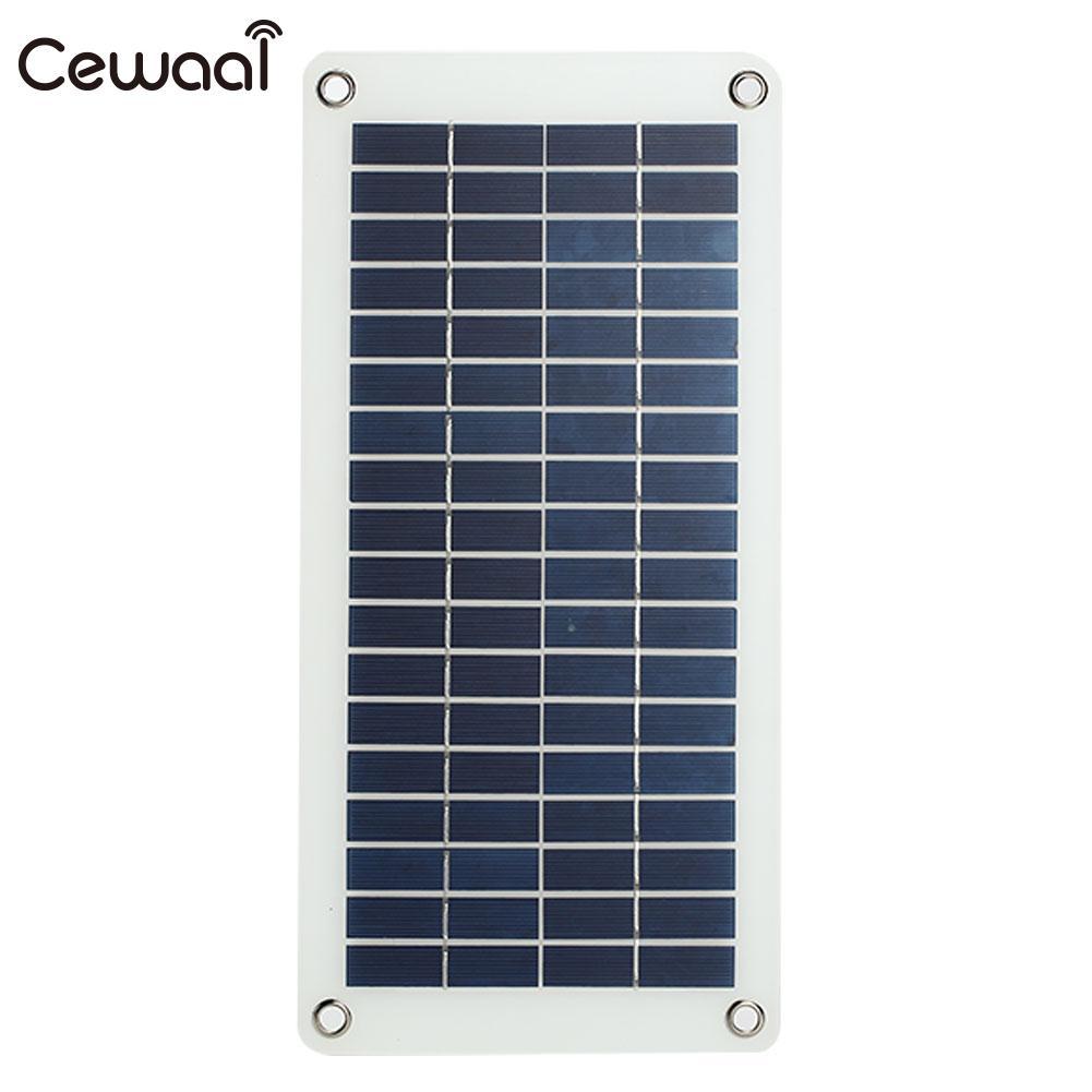 Durable Emergency Power Supply Solar Panel Solar Generator 10W 18V with Cigarette Lighter Monocrystalline Silicon Travel