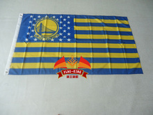 Golden State Warriors Champions banner flag pennant man cave 3X5FT Custom Team Flag