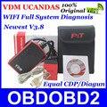 Новый Профессиональный 100% Оригинал Обновление Онлайн ВДМ UCANDAS WIFI Полный Система V3.8 Автомобиля Диагностика Mudule Же Функция, что DIAGUN