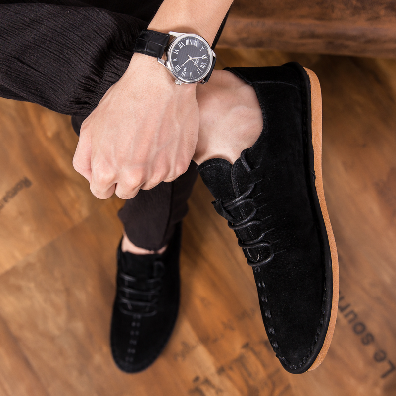 New Arrival Italian Mens Shoes Hot Sale Mens Leather Shoes Casual Office Comfortable Dress Man Loafers Platform Shoes Driving 20