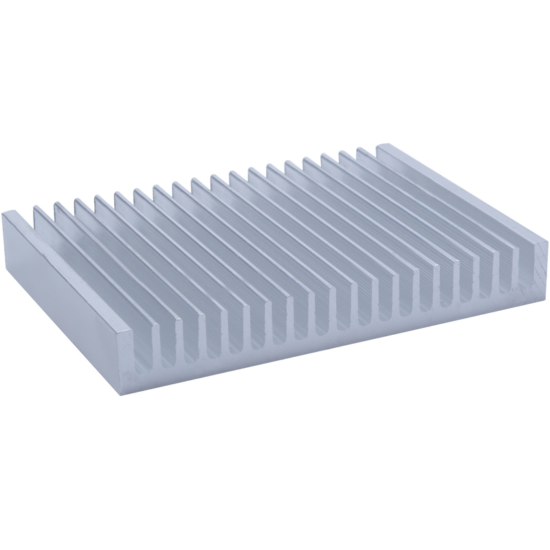 Aluminum alloy heat sink 100/200*140*20MM Aluminum Profile large Power Radiator Electronic Thermal Conductivity Cooler Heatsink image