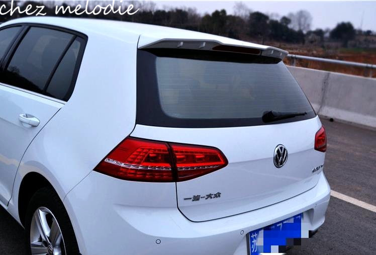 Abt Style Pure White Black Painted Abs Sports Car Rear