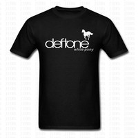 Deftones T Shirt Male Short Sleeve Fashion Brand T Shirt Men New DIY Style High Quality
