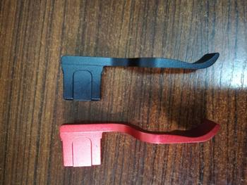 Czarny czerwony metalowy uchwyt na gorącą stopkę uchwyt na gorącą stopkę do Sony A9 A7M3 A7R3 A7R3 A7 A7RM2 A7R3 A7RII Camera tanie i dobre opinie harry good