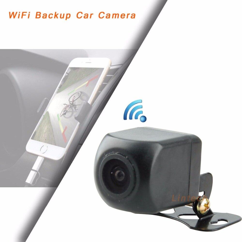 Caméra de vue arrière de voiture Wifi sans fil étanche IP66 fiable