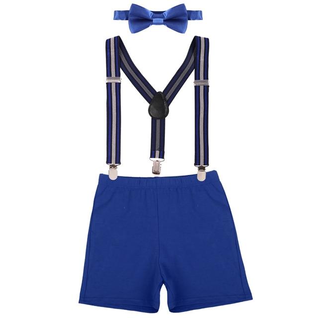 5e4e53b96dad 3pcs Set Baby Boy Girl Cake Smash Outfit Diaper Cover Shorts Pants ...