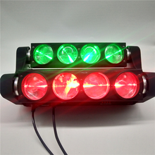 LED Beam Spider 8x12w 4in1RGBW Moving Head Light LED Stage Light Suitable for Party DJ Disco Wedding Decoration Stage Light