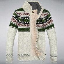 Men Fashion Cashmere Winter Wool jacket Men's