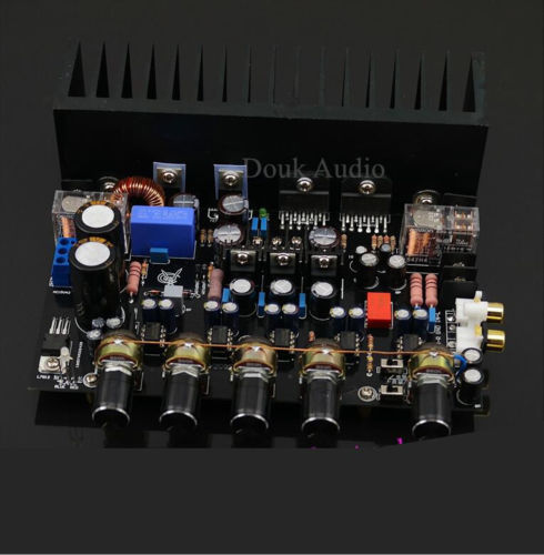 Hifi Stereo LM3886TF 2.1 IRS2092 Digital Power Amplifier Assembled AMP Board