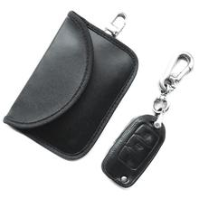 Car Key Bag Signals Blocking Pouch For FOB Anti-Theft Keyless Entry Protector Can Block GPS And Car-key Signal