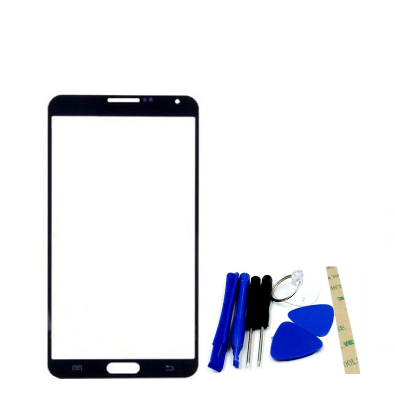 RTBESTOYZ White Black For Samsung Galaxy Note3 Note 3 Neo N750 N7505 Front Glass 5.5 Touch Screen Outer Panel Repair Part