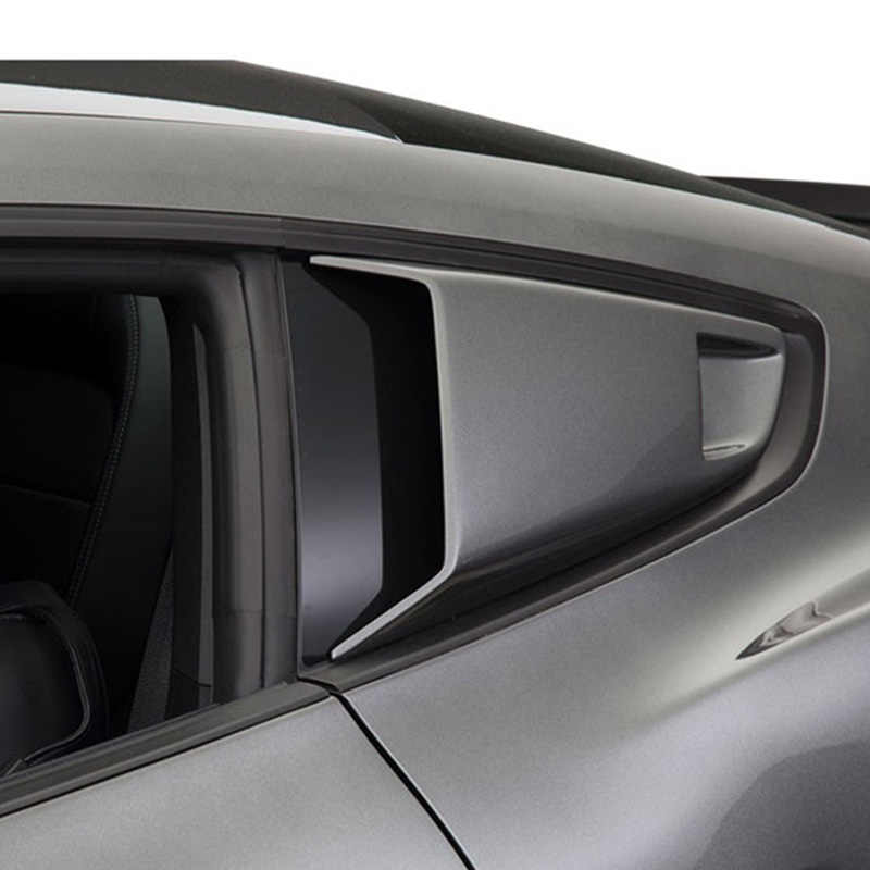 For Ford Mustang 2015 2016 2017 PP OEM Style Side Window fender Air intake  Trims Vent Decoration Cover